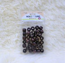 Brown Wood Beads Jewelry Making Wooden Tool