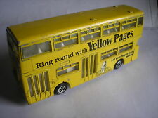 DINKY TOYS 295 atlantideo Bus yellow pages 1977 buone condizioni.