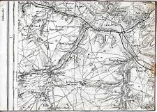 80 Airaines Flixecourt Sorel 1914 pt. carte orig. (partie) Soues Bouchon Crouy