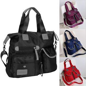 Bag Street Damen Handtasche Shultertasche Damentasche Umhängetasche Nylon
