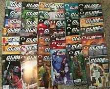 G.I. Joe IMAGE Comics Lot of 42 Real American Hero & Front Line Series-VF +1GD