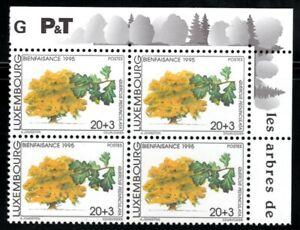 Luxembourg 1995 Bloc de 4 ** / Mi 1382 [Q037]