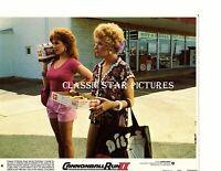 R267 Shirley MacLaine Marilu Henner Cannonball Run II 1984 8x10 color lobby card