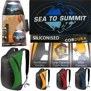 Sea To Summit Ultra-Sil Daypack Ultralight 68g Pack Rucksack Compact Travel 20lt
