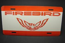 FIREBIRD TRANS AM LICENSE PLATE FOR CARS  PONTIAC METAL ALUMINUM