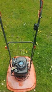 Flymo XL500 Push Mower good runner blade bolt seized otherwise ok Honda  engine
