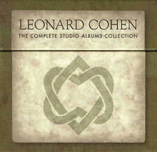 LEONARD COHEN, THE COMPLETE STUDIO ALBUMS COLLECTION (SEALED) + BOOK (NEW)