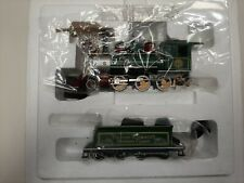Thomas Kinkade Christmas Express. Hawthorne Village Locomotive And Tender w/Coa