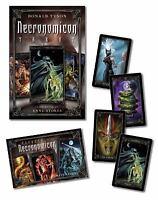 Necronomicon Tarot Cards Kit [With BookWith Tarot CardsWith Black Organdy Bag] (