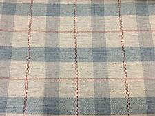 Colefax & Fowler Wool Upholstery Fabric- Finlay Check/Aqua  4.75 yd (F4107/01)
