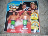WWF Hasbro Wrestling Figur Serie 2 The Rockers spain OVP MOC Jannetty signed WWE