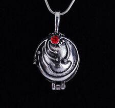 Vampire Diaries Elena Gilbert Antique Locket Necklace Pendant Vervain