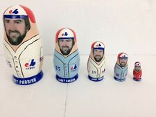 Montreal Expos Larry Parrish #15 Russian Nesting Doll Babooshkah - MLB Baseball