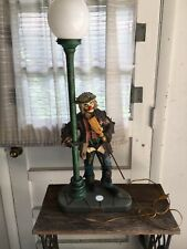 Vintage Signed limited edition Emmett Kelly Jr. Lamp