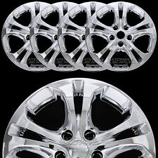 "4 New 2011-2014 Dodge Durango 18"" Chrome Wheel Skins Hub Caps Full Rim Covers"