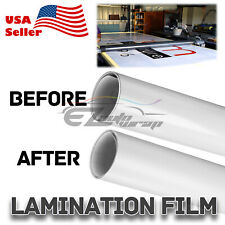 60x600 Cold Laminating Film Matte Clear Monomeric Lamination Poster Sign Decal