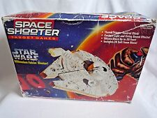STAR WARS MILLENIUM FALCON SPACE SHOOTER BLASTER GUN WITH DISCS IN ORIGINAL BOX