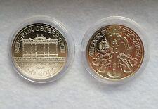 1 Unze Silber Münze Wiener Philharmoniker 2009 ,  1 oz. Onza 999  Silver BU ***