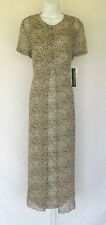NEW WITH TAGS SPENSER JEREMY LEOPARD PRINT DRESS & COVER SILK SIZE 10