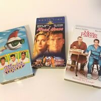 VHS Video Tapes Lot Of 3 VTG 80s 90s Major League Road House Meet The Parents
