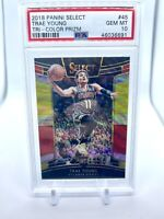 2018-19 Panini Select Trae Young Tri-Color Prizm Rookie RC PSA 10 Gem Mint 🔥
