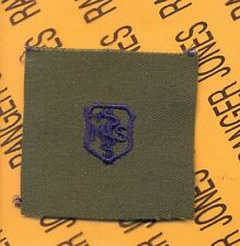 USAF Air Force Medical Service MS Qualification OD Green & Blue badge patch