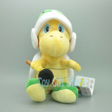 "Koopa Troopa Hammer 8"" New Super Mario Bros .Plush Doll Stuffed Toy"