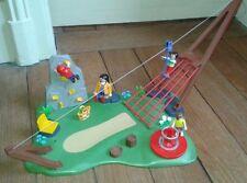 Playmobil 4015 SUPERSET JARDIN D ENFANT AVEC TYROLIENNE  TOURNIQUET ESCALADE