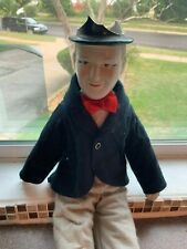 Stan Laurel Of Laurel And Hardy Bisque Doll With Felt Clothing And Body 80'S