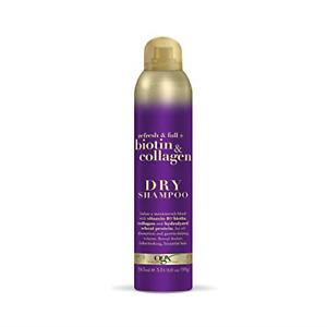OGX Biotin and Collagen Dry Shampoo, 165 ml