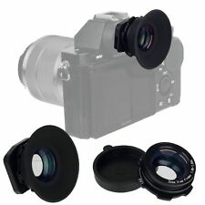1.08x-1.60x Zoom Viewfinder Eyepiece Magnifier for Canon Nikon Sony Fuji Cameras