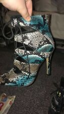 Missguided Heeled Boots size 8