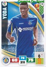161 ABDOUL YODA FRANCE GETAFE.CF FC.SION CARD ADRENALYN LIGA 2016 PANINI