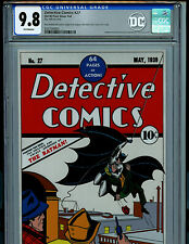 DC Detective Comics #27 CGC 9.8 Silver Foil Batman 1st Release Amricons K14