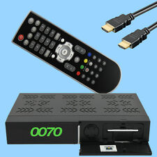 HD Plus FullHD Sat-Receiver 6 Mesi HD + Mappa Full HDTV LAN HDMI SCART USB PVR