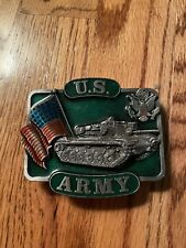 New listing U.S. Army Belt Buckle - 1982 - Bergamot Brass Works - Excellent Condition