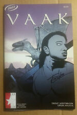 VAAK #1 1st Print One-Shot Signed by Trent WestBrook Texas Comic Con Unread