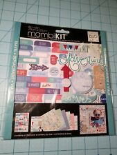 Mambi: 8x8 Travel Theme Scrapbook Kit - 6 Pages, Stickers & Embellishments - NEW