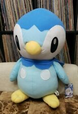 """2008 Pokemon Diamond  PIPLUP Large 16"""" Plush Figure Doll Toy Factory New w/ Tags"""