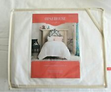 Twin / XL Twin  Embordered Duvet Cover Set White - Opalhouse  (B1 444)