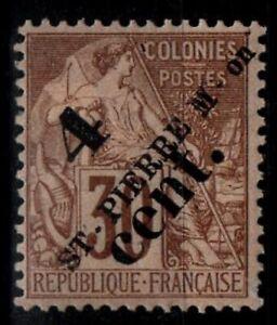 St Pierre & Miquelon : Alphée DUBOIS 43b, Neuf * = Cote 150 € / Timbre DOM-TOM