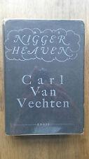 Carl Van Vechten – Nigger Heaven (1st UK 1926 hb w dw) Harlem Renaissance novel
