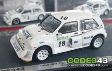 1/43 scale Will Gollop MG Metro 6R4 1986 British Rallycross Grand Prix GP decals