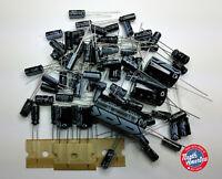 Kenwood R-1000 electrolytic capacitor kit