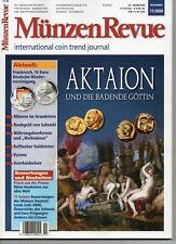 Münzen Revue 11/2020 Aktaion und die Badende Göttin ungelesen