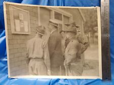 "14"" x 11"" Photograph 1920s C.M.T.C Ft. Sheridan Il with Col. Noble Judah"
