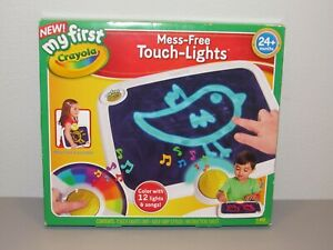 My First Crayola Mess-Free Touch-Light 81-1355 Drawing Toy