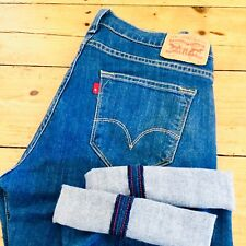 Levis 504 Redline Selvedge Jeans 31x31 Stretch Fit