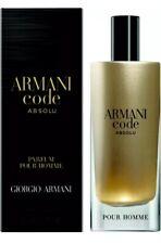 Armani Code Absolu Parfum Pour Homme Giorgio Armani! Nib 15ml 0.5 fl oz!