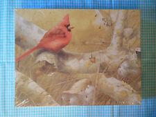 Bird Puzzle Marjolein Bastin American Cardinal Bird Springbok 500 Pieces NEW
